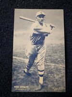 1928 Exhibits Fred Schulte ST LOUIS CARDINALS HIGH GRADE