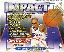 1999-00 Fleer Skybox Impact Basketball Hobby Box
