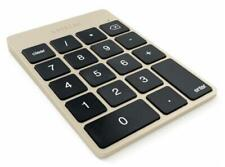 Satechi Aluminium Slim Wireless Keypad Bluetooth Akku Ziffernblock - ##Gold##