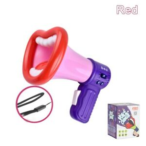 Megaphone Big Mouth Funny Recording Voice Changer Handheld Mic Prank Toy Gift
