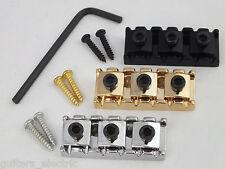 LOCKING NUT 42mm  Chrome Black or Gold, Screws & Allen Key for Floyd Rose set up