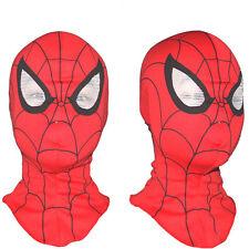 Spider-Man Lycra Balaclava Hat Zentai Mask Hood Halloween Cosplay Headwear Toy