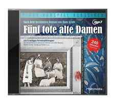Fünf tote alte Damen - CD Hörspiel Krimi Hans Gruhl Pidax MP3-CD Neu Ovp