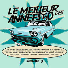 CD Le Meilleur Best des of Annees 50's Vol 3 by Various Artists 2009 NEW SEALED