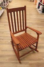 Schaukelstuhl Stuhl Akazie geölt 100% maschinell verarbeitet  Neu OVP