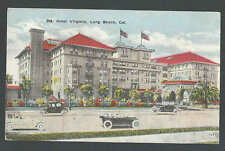 PPC #K4* Good Post Card Hotel Virginia Lond Beach Ca Used Not Posted