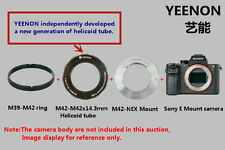 M42-M42X13.3mm Helicoid tube + M42-NEX Mount (Flange)( ring free)