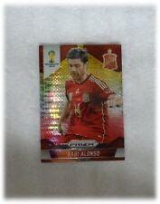 2014 Panini Prizm World Cup Yellow Red Pulsar Xabi Alonso - Spain #173