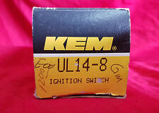 Ignition  Switch Kemparts KEM UL14-8 GM No Tilt, D1414A, D1420A, D1422A