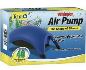 Tetra Whisper Air Pump Quiet Powerful Flow Water Fish Tank System For Aquariums