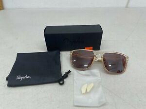 Rapha Men's Classic Sunglasses - Pink Clear Gloss / Bronze Lens