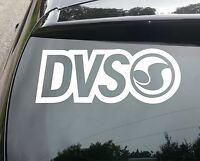 LARGE DVS SURF Car/Van/Window JDM VW DUB VAG EURO FAT Vinyl Decal Sticker