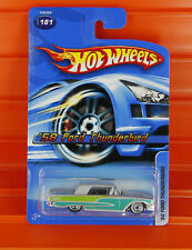 Hot Wheels - 2005 - '58 FORD THUNDERBIRD (Silber) Open Stock - 181/187 *LongCard
