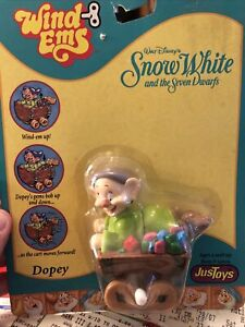 NEW DISNEY SNOW WHITE AND THE SEVEN DWARFS DOPEY WINDEMS 21023 JUSTOYS Read Desc