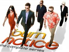 BURN NOTICE THE COMPLETE TV SERIES New Sealed 28 DVD Set Seasons 1 2 3 4 5 6 7