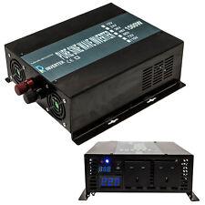 12v/24v/48v a 240v 50hz 1500w OFF GRID Onda Sinusoidale Pura Inverter di potenza auto
