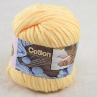 Sale New 1Skeinx50gr Soft Worsted Cotton Chunky Hand Knitting Baby Quick Yarn 25