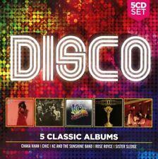 DISCO - 5 Classic Albums - 2017 - NEW SEALED - Chaka Khan Chic Rose Royce