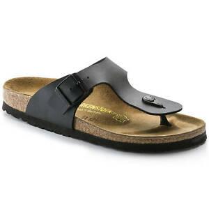 Thong Black Birkenstock RAMSES Birko-Flor Beach Shoes Summer Sandals Flip-Flop