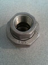 """1/2"""" 150# 304 Stainless Steel Pipe Female Union (Threaded)"""