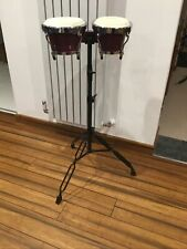 More details for tone deaf bongo drums with stand