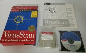 """McAfee VirusScan for Win 95 - CD & 3.5"""" Floppy Disks Version 3.1.1"""