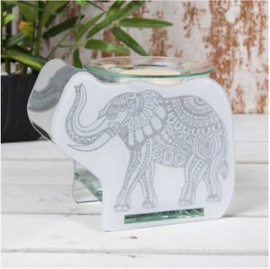 Buddha Fragrance Oil Burner Warmer Wax Melt Aroma Tea Light Holder Elephant New