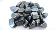ONE Tumbled Stones 20-25mm HEMATITE Reiki Crystal Healing Grids Grounding Safety
