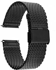 TRUMiRR 22mm Quick Release Watch Band Milanese Stainless Steel Strap For Gear 2