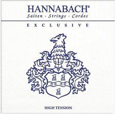 Hannabach Corde per chitarra classica, Exclusive Series Tensione High Tension