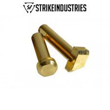 Strike Industries Enhanced Extended Take Down Front & Rear .250 Pins -Gold Color