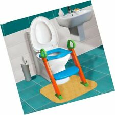 Kids Potty Training Seat Step Stool Ladder for Child Toilet Chair Free2dayship