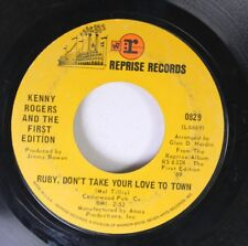 Rock 45 Kenny Rogers And The First Edition - Ruby, Don'T Take Your Love To Town