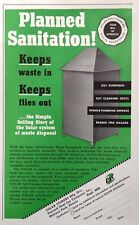 1952 AD(XE13)~PRESSED STEEL CAR CO. SOLAR STURGES SELF-CLOSING WASTE RECEPTACLE