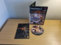 PLAYSTATION 2 - PS2 - GOD OF WAR 2 - COMPLETE WITH MANUAL - FREE P&P