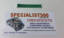 ADESIVO MARTINETTO DI SOLLEVAMENTO PER FIAT 500 EPOCA  TUTTE