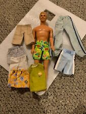 """1968 Ken Doll Mattel 11.5"""" Indonesia With Extra Clothes"""