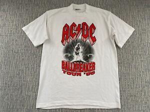 Vintage AC/DC Ballbreaker World Tour '96 White Concert Shirt 1996 ACDC T-Shirt