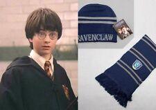 Top Harry Potter Ravenclaw Thickened Schal/Halstuch Mütze Set Kostüm Winterhut