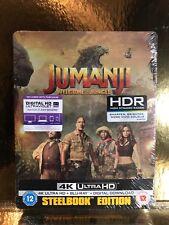 STEELBOOK Blu-ray Jumanji 2 [ Edition Limitee 4K  ]