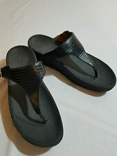 Women's Fit Flops The Skinny Sandals 350-001 Black