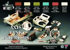LIFECOLOR Camouflage Set CS22 - WWII Axis Tank Interiors - 6x22ml Acrylic Paints