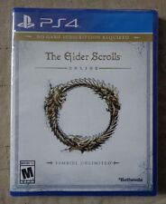 PLAYSTATION 4 THE ELDER SCROLLS ONLINE TAMRIEL UNLIMITED PS4 BRAND NEW & SEALED