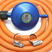 IGT CAMPINGAZ GAS REGULATOR 2m HOSE & CLIPS fits 907,904.901 & 5 Year WARRANTY