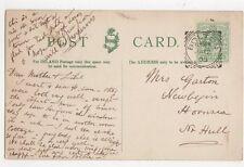 Mrs Garton Newbegin Hornsea Nr Hull 1905  317a