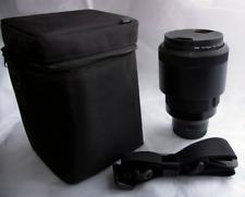 Sigma 135mm 1.8 FE Sony lens
