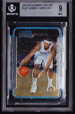 Carmelo Anthony Thunder 2003 Bowman Chrome #140 Rookie Card rC BGS 9 QUANTITY