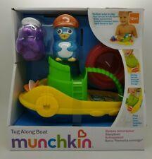 Munchkin Tug Along Boat Baby Bath Tub Toy - 12m+