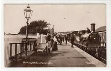 More details for railway station, haddington: east lothian postcard (c64975)