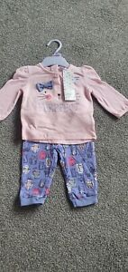 Brand New With Tags 3-6 Months Girls Outfit F&F